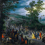 Jan Brueghel The Elder - The Way to the Hill of Calvary