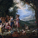 Jan Brueghel The Elder - Allegory of autumn