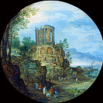 Temple of Vesta, Jan Brueghel The Elder