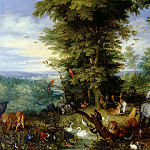 Adam and Eve in the Garden of Eden, Jan Brueghel The Elder