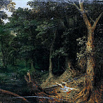 Jan Brueghel The Elder - Attack in the Forest