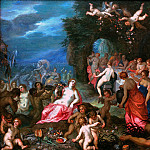 Feast of the Gods, Jan Brueghel The Elder