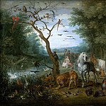 Jan Brueghel The Elder - Noah collecting animals for the ark