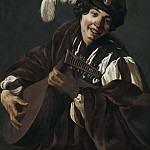 A Boy Playing the Lute