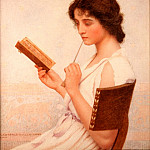 George Lawrence Bulleid - The Love Letter, 1911