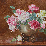George Lawrence Bulleid - Still life of roses
