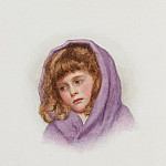 George Lawrence Bulleid - The purple shawl