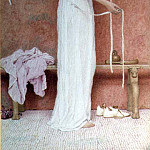 George Lawrence Bulleid - Before the Bath, 1902