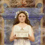 George Lawrence Bulleid - A vestal