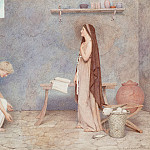 George Lawrence Bulleid - The Annunciation