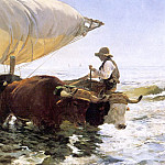 Joaquin Sorolla y Bastida - Boat returning from a fishing trip