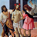 Alessandro Botticelli - Flagellation of Christ (workshop)