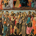 Alessandro Botticelli - Coronation of the Virgin with Saints (workshop)