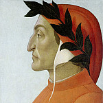 Portrait of Dante, Alessandro Botticelli
