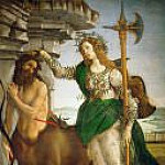 Pallas and the Centaur, Alessandro Botticelli