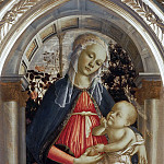 Uffizi - Madonna of the Rosebush