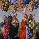 Alessandro Botticelli - Coronation of the Virgin