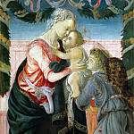 Alessandro Botticelli - Virgin and Child Supported by an Angel