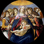 Madonna of the Pomegranate, Alessandro Botticelli