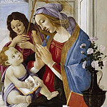 Alessandro Botticelli - Madonna and Child with Saint John the Baptist