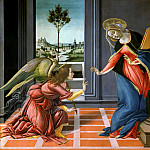 Michelangelo Buonarroti - The Annunciation