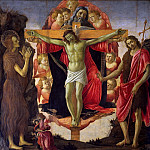 The altar of the Holy Trinity, Alessandro Botticelli