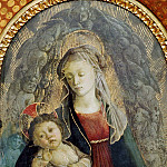 Madonna in Glory with Seraphim, Alessandro Botticelli
