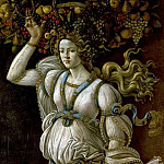 Alessandro Botticelli - Autumn or allegory on excessive consumption of wine