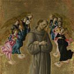 Alessandro Botticelli - Saint Francis of Assisi with Angels
