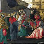 Adoration of the Kings (Sandro Botticelli and Filippino Lippi), Filippino Lippi