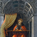 Uffizi - Saint Augustine in the Cell