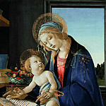 Alessandro Botticelli - Madonna of the Book