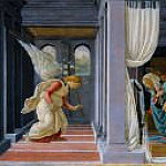 The Annunciation, Alessandro Botticelli