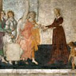Venus and the Graces Offer Presents to a Young Girl, Alessandro Botticelli