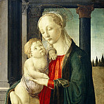 Madonna and Child, Alessandro Botticelli