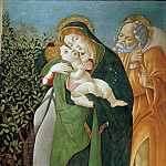 Flight into Egypt , Alessandro Botticelli