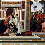 Alessandro Botticelli - Scenes from the Life of Saint Zenobius - Last Miracle and the Death of St. Zenobius
