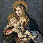 Alessandro Botticelli - The Madonna and Child with the Crown of Thorns and three nails