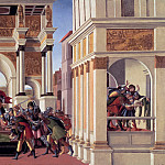 The Story of Lucretia, Alessandro Botticelli