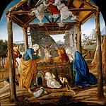 Nativity, Alessandro Botticelli