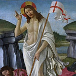 THE RESURRECTION , Alessandro Botticelli