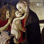 Alessandro Botticelli - Madonna and Child with Young Saint John (workshop)