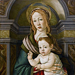 Alessandro Botticelli - The Madonna and Child (Botticelli and Workshop)