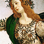 Alessandro Botticelli - Pallas and the Centaur, detail