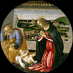 The Adoration of the Child , Alessandro Botticelli