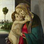 The Virgin and Child , Alessandro Botticelli