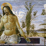 Alessandro Botticelli - San Barnabas Altarpiece, predella - Christ in the Sepulchre