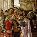 Adoration of the Magi, detail