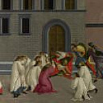 Scenes from the Life of Saint Zenobius - Three Miracles of Saint Zenobius, Alessandro Botticelli