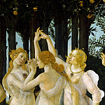 Alessandro Botticelli - Primavera (detail - Three Graces)
